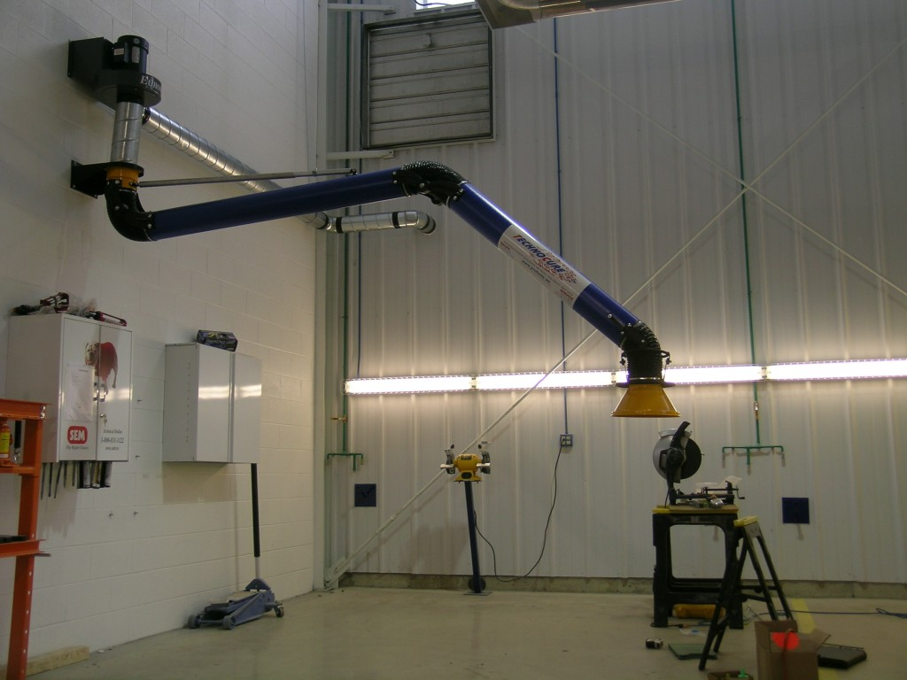 Welding Fume Extraction Systems : Welding fume arm