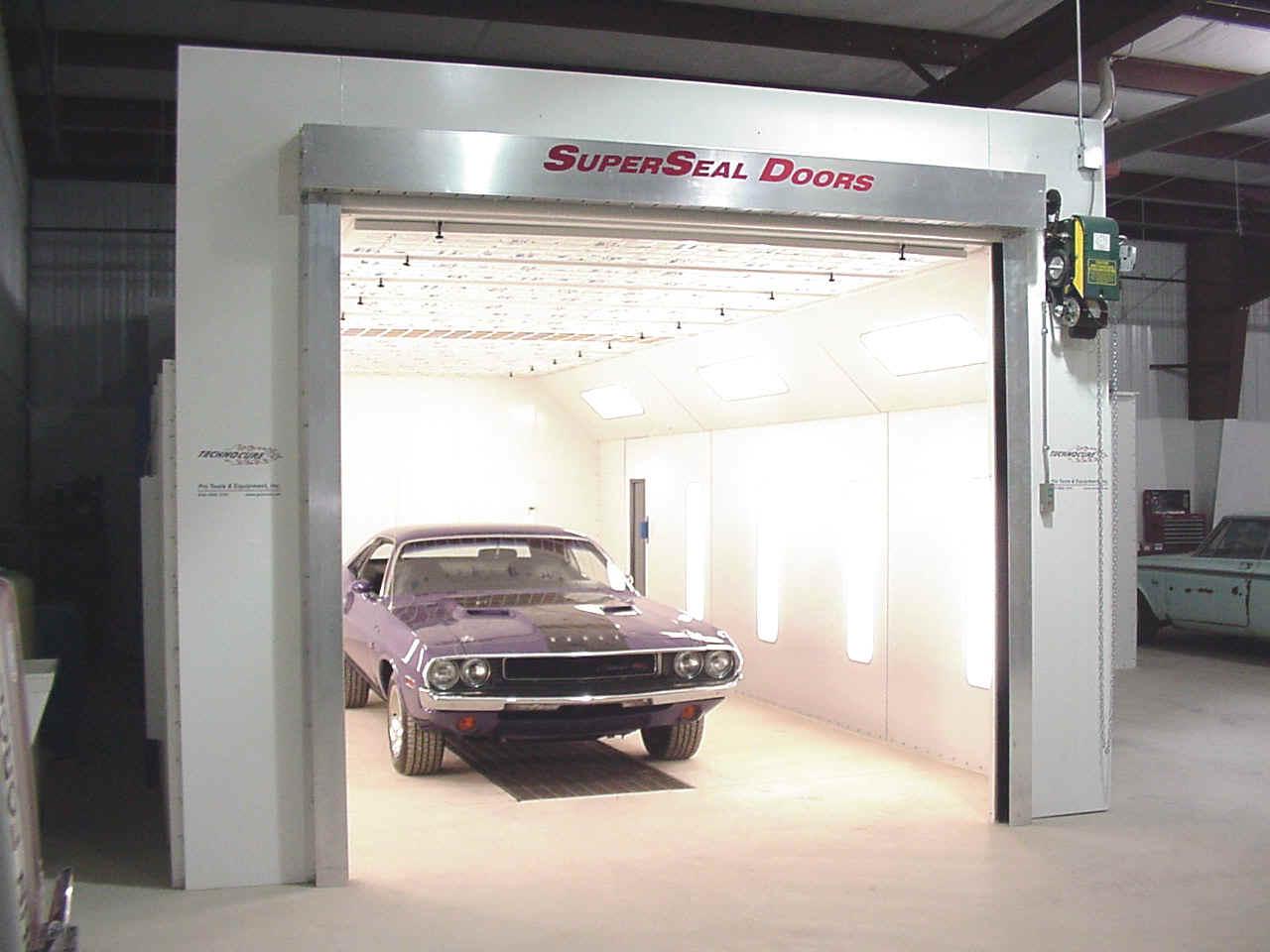 Technocure Down Draft Spray Booths